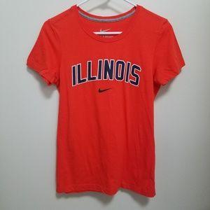 Nike | Illinois Fighting Illini Slim Fit Tee M